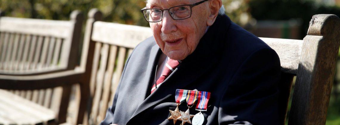 War veteran raises over £12M for NHS!