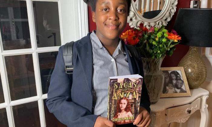 Schoolgirl releases novel after smashing fundraising goal
