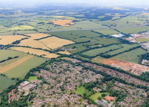 Relaxation of planning rules to get Britain building