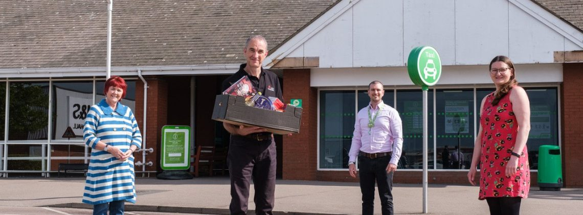 Homeless charity receives helping hand from Corby business