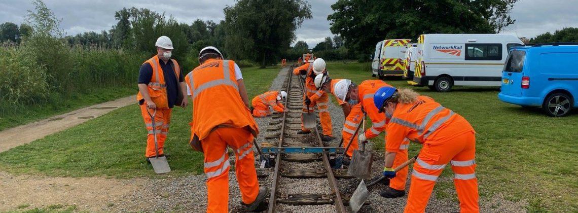 Volunteers step in to help get Wicksteed back on track