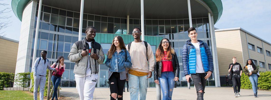 High grades at Northampton College as students celebrate GCSE success