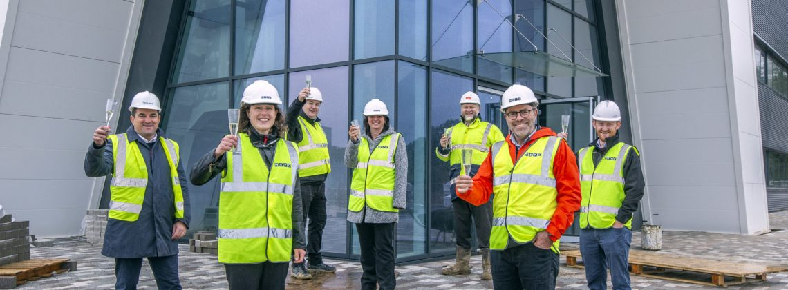 Flagship industrial development due to complete within weeks