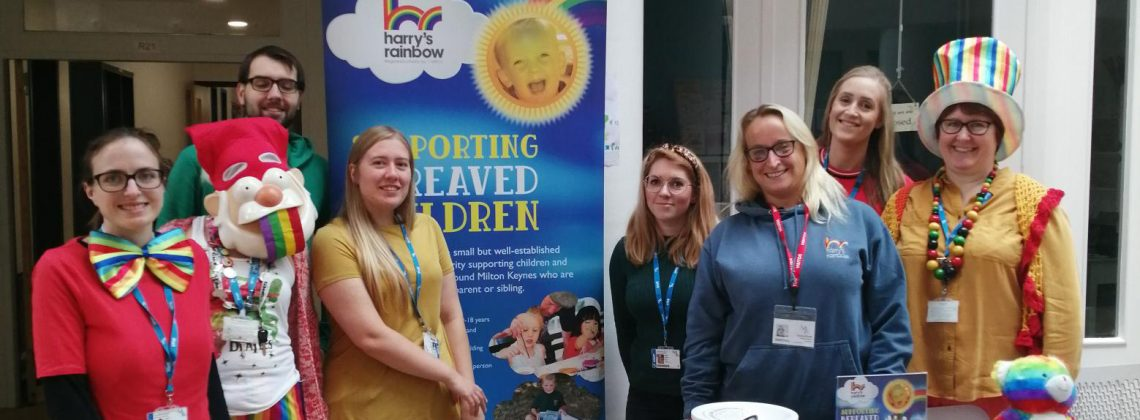 MK College and Harry's Rainbow team up to support bereaved children this Christmas