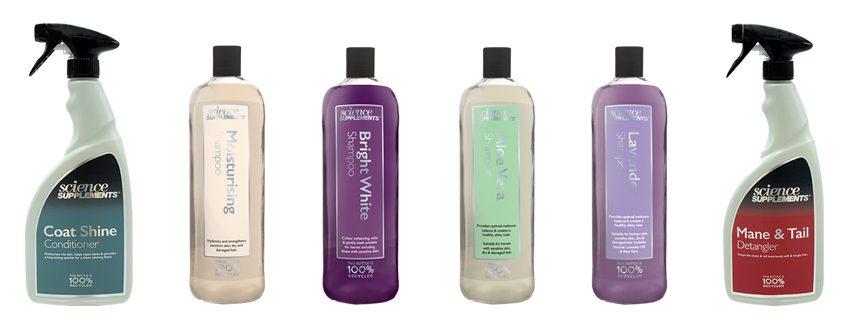Horse Care Packshot Shampoo Spray
