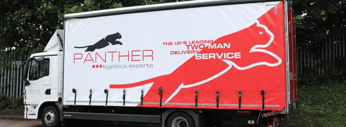 Panther Logistics lorry