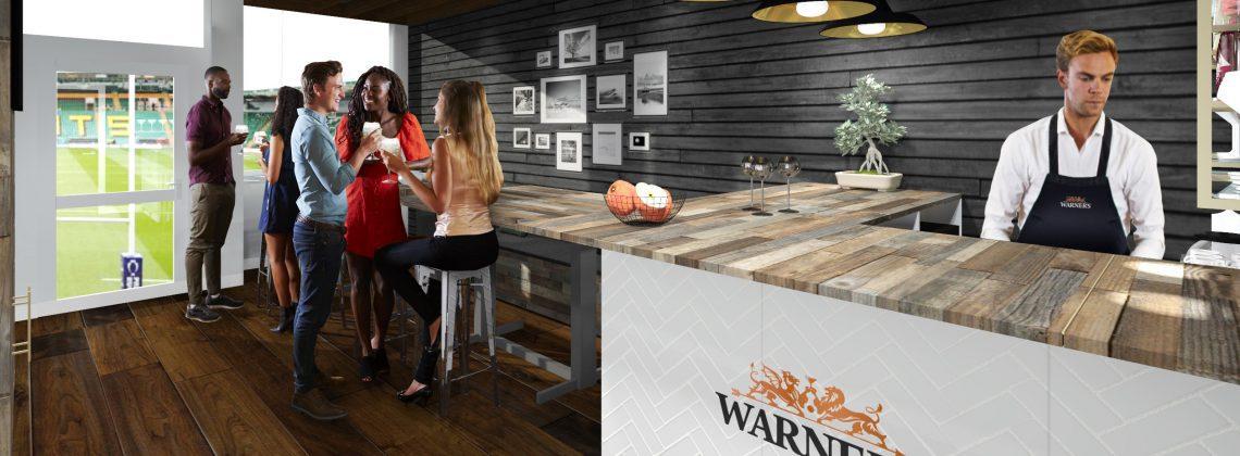 Warner's Experience at Northampton Saints