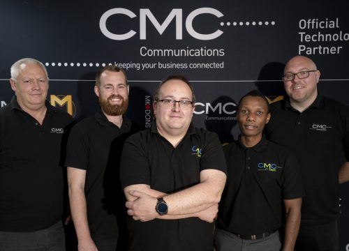David Luke CMC Communications Business Development Manager – Ian Dickinson Operations Director – Simon Wright Managing Director – Andrew Mwazange Technical Director – Phil Glenister Sales Director