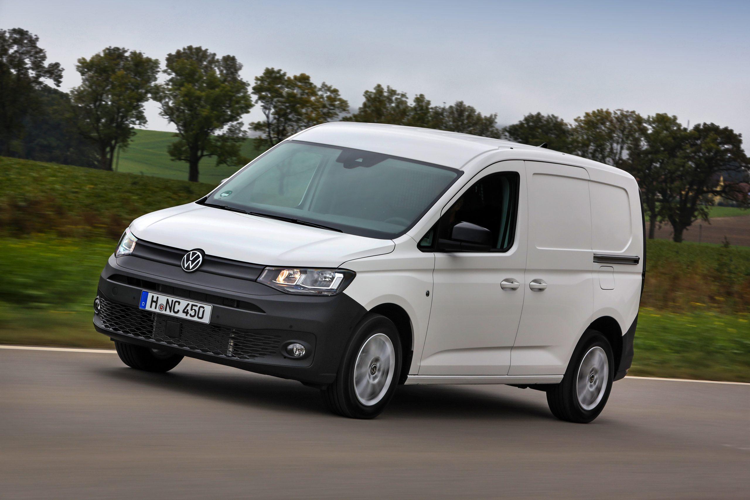 VW white van travel motor