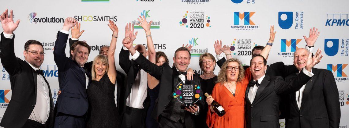 Business of the year winners MKBAA 2020