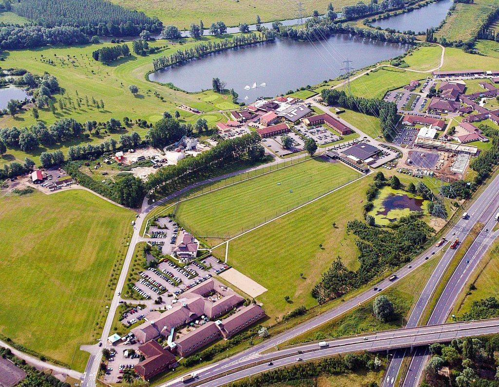 Wyboston Lakes Resort Aerial