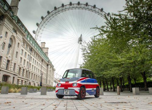 Citroen AMI small electric kei car great britain london eye